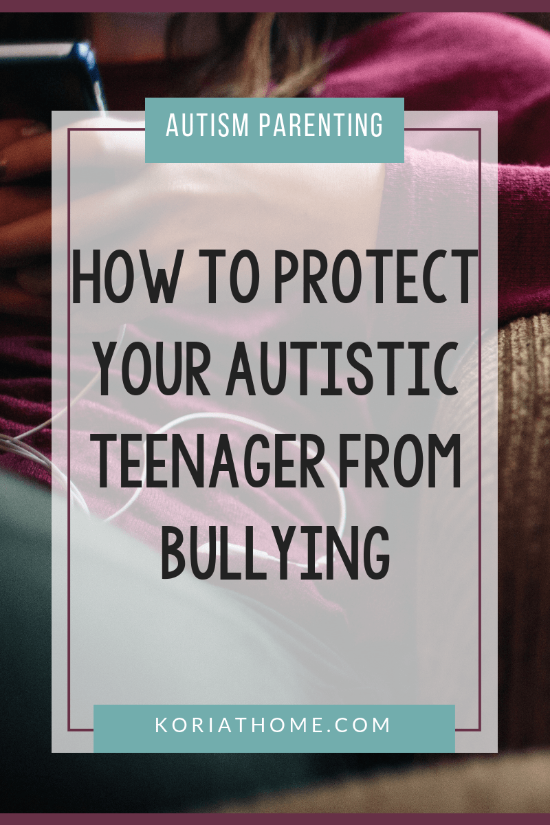 How to Protect Your Autistic Child from Bullying 1