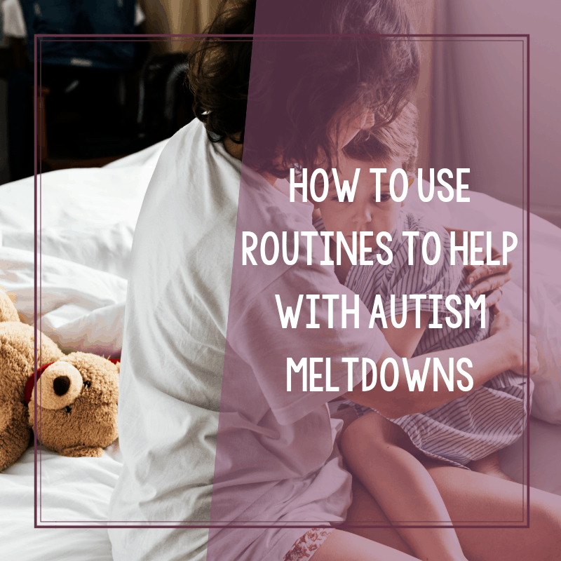 The Benefits of Routine and Structure for Autism Meltdowns 2