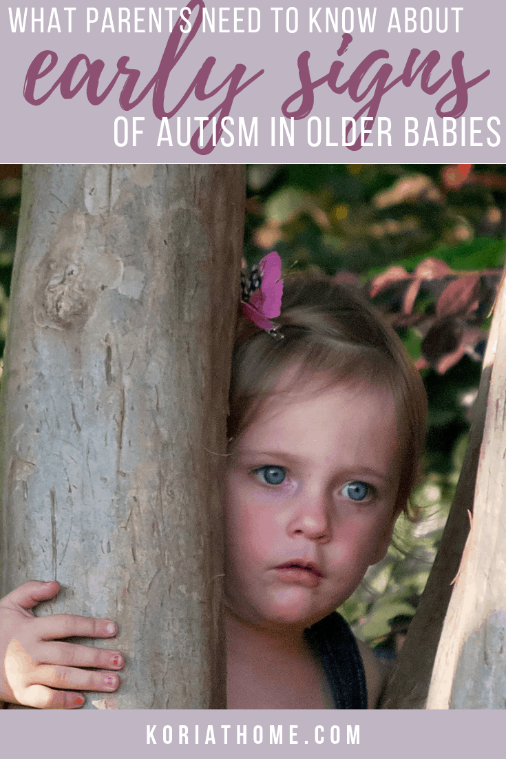Red Flags and Early Signs of Autism in Older Babies 1