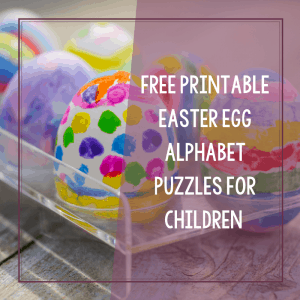 Free Printable Easter Egg Alphabet Puzzles for Autism 7