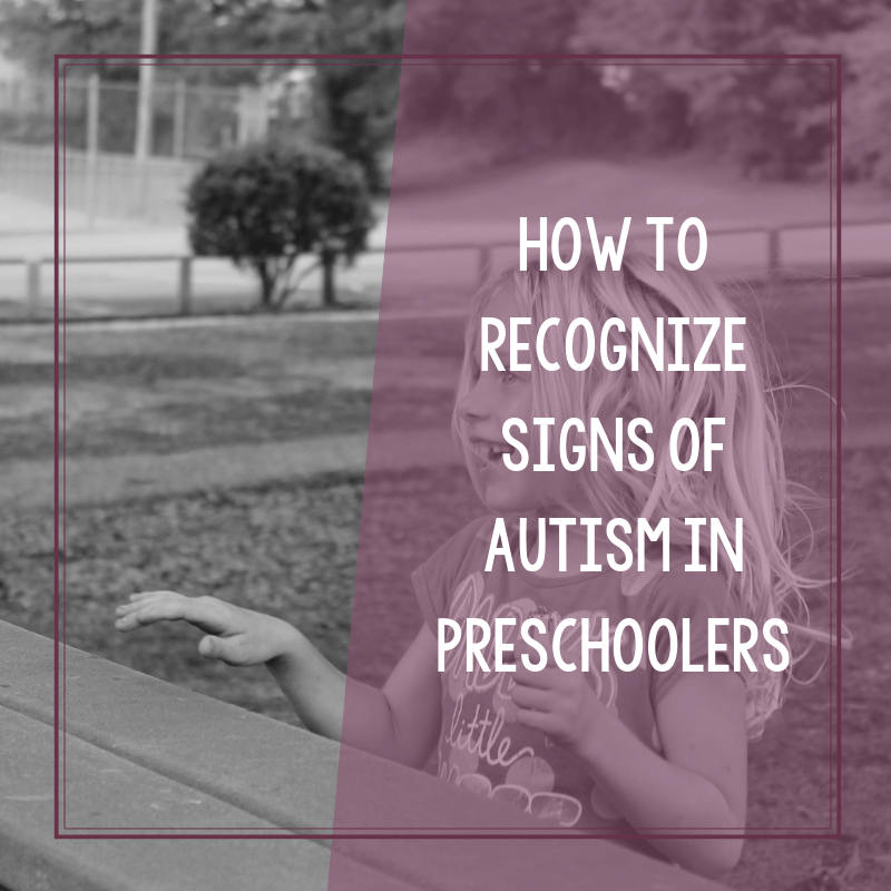 How to Recognize Signs of Autism in Preschoolers 2