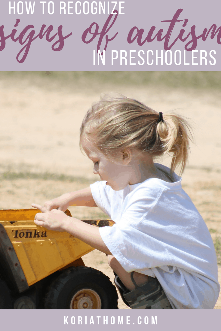 How to Recognize Signs of Autism in Preschoolers 1