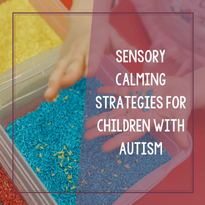 Sensory Calming Strategies for Autism Meltdowns (with free printable!)
