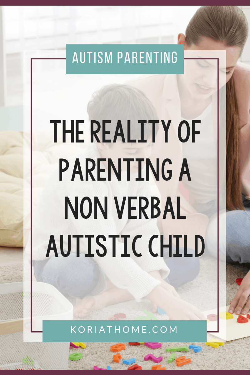 What I Wish You Knew About Parenting a Non-verbal Autistic Child 4