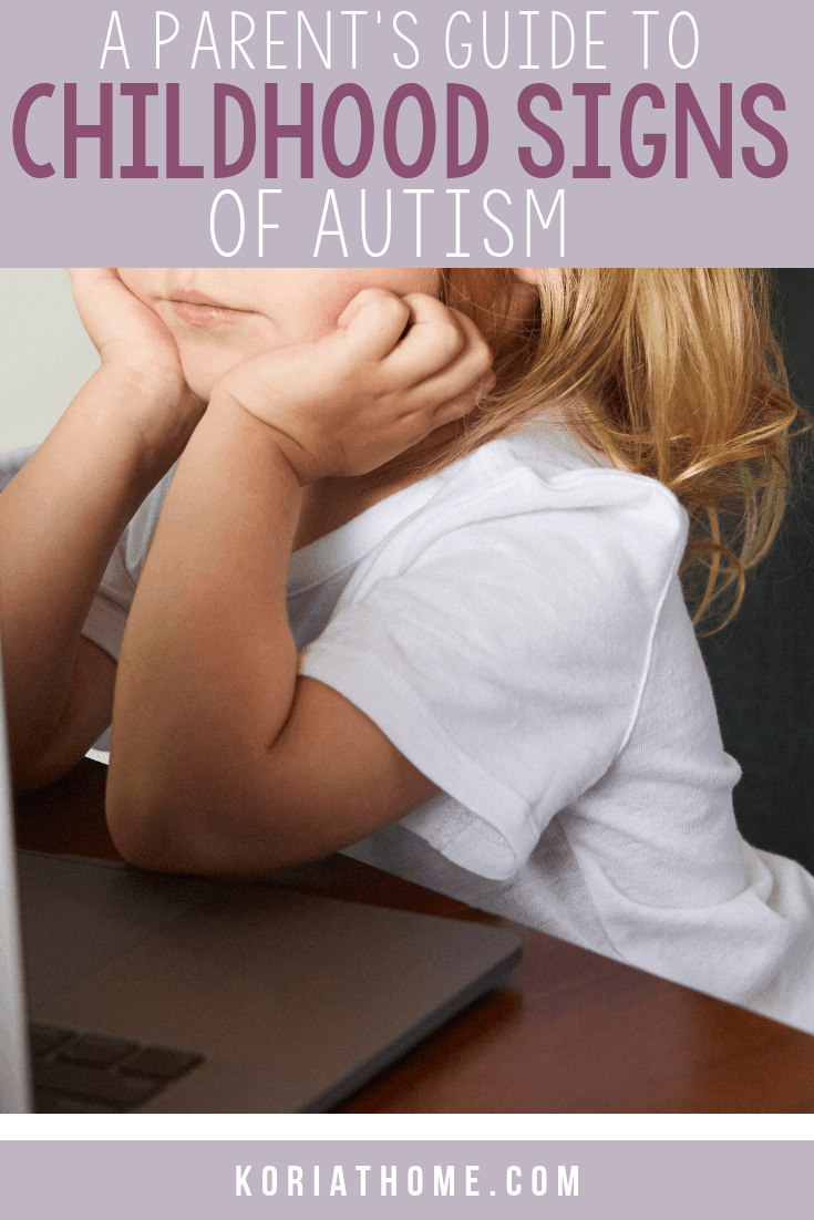 What are the Childhood Signs of Autism? 1