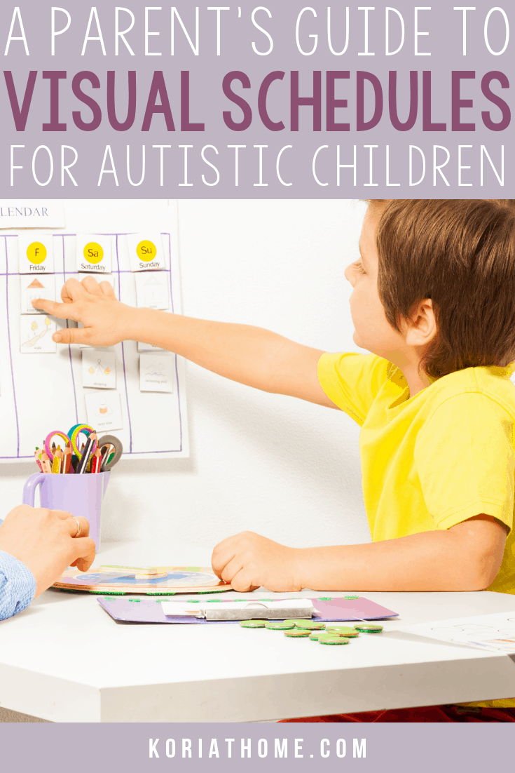 How to Use Free Visual Printables for Autism to Set Up a Daily Routine 1