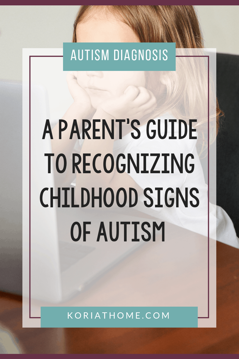 What are the Childhood Signs of Autism? 3