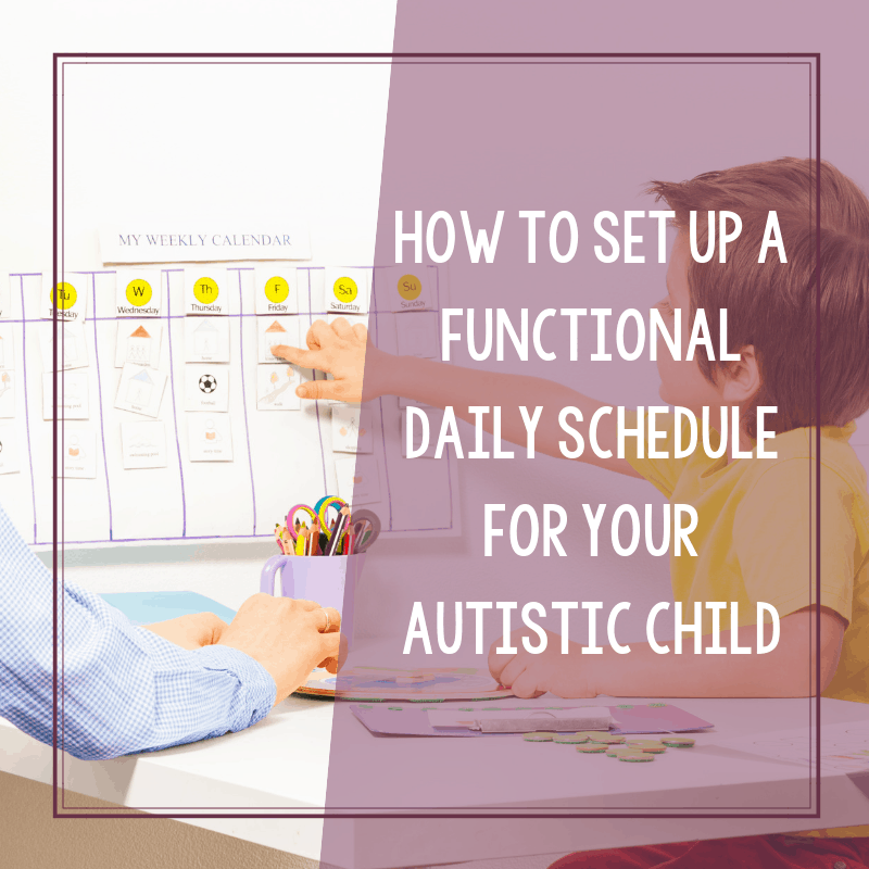 Free Printable Daily Schedule for Children on the Autism Spectrum 2