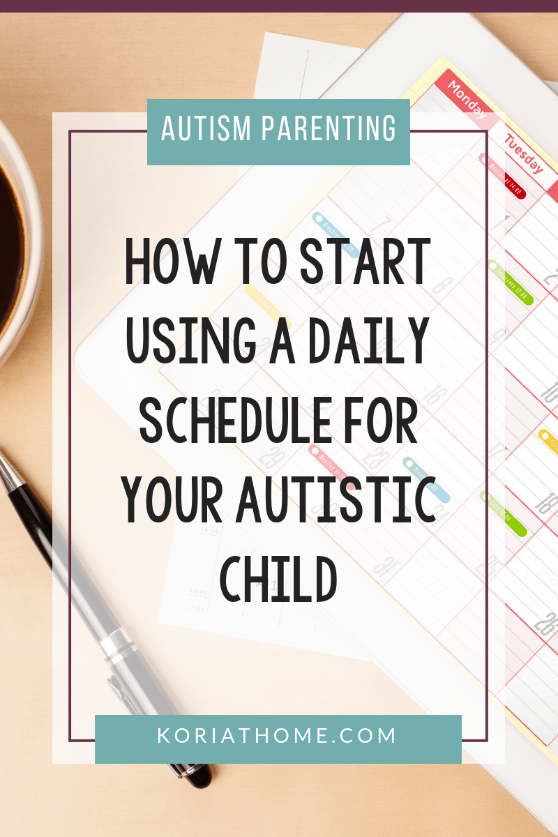 Free Printable Daily Schedule for Children on the Autism Spectrum 3