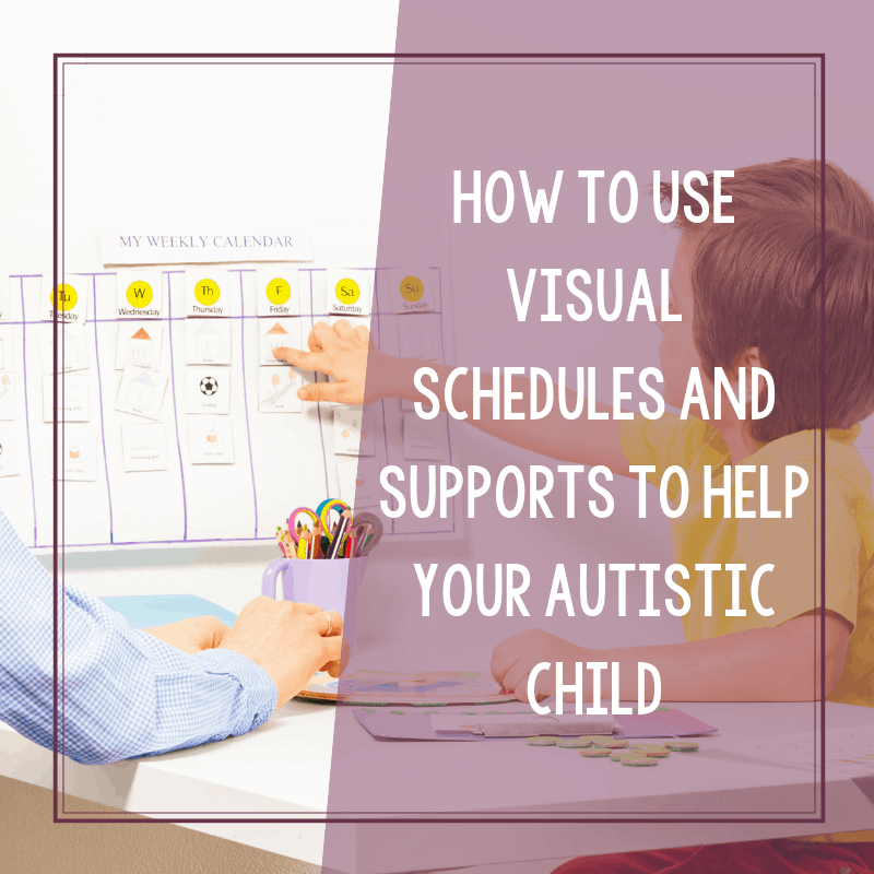 How to Use Free Visual Printables for Autism to Set Up a Daily Routine 2