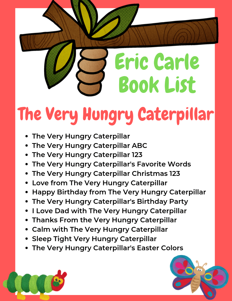 The Ultimate List of Eric Carle Books for Toddlers and Preschoolers 1