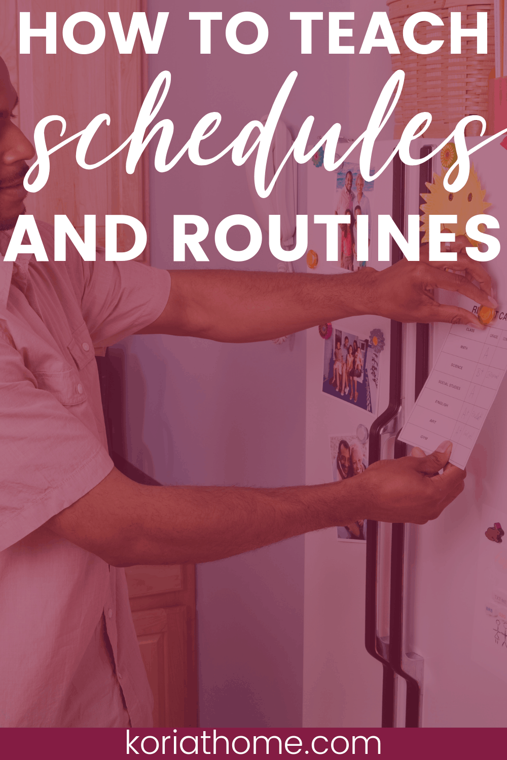 How to Teach Schedules and Routines to Your Autistic Child 1