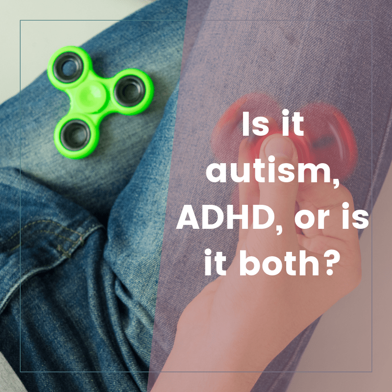 How do I know if it's signs of autism or ADHD? Is there a difference?