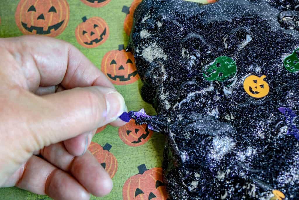 Sensory Friendly Halloween Slime 7