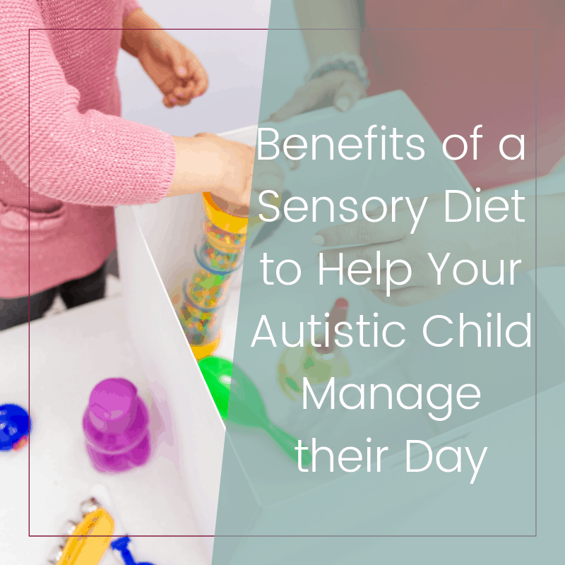 How a Sensory Diet Will Help Your Autistic Child Manage Their Day