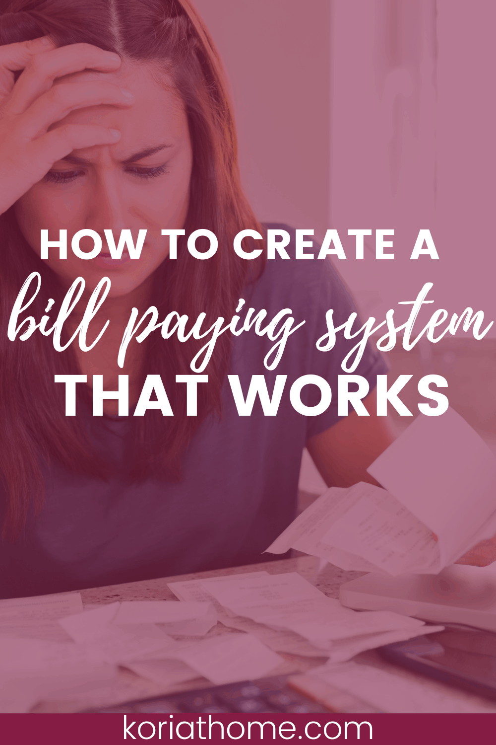 How to Create a Bill Paying System that Makes Sense 1