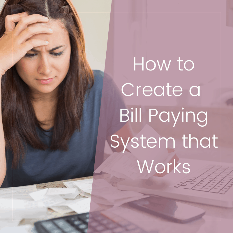 How to Create a Bill Paying System that Makes Sense 2