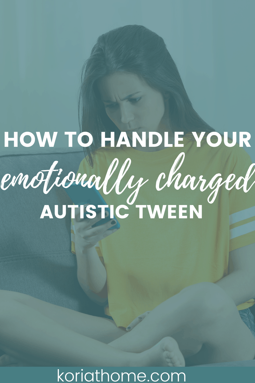 How to Handle Your Emotionally Charged Tween with Autism 1