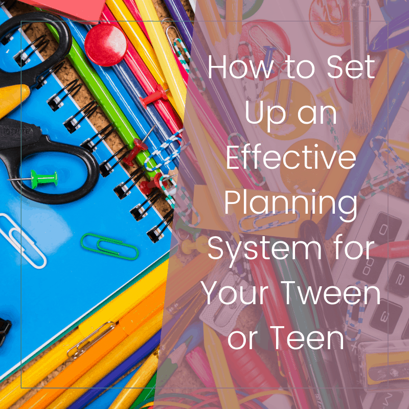 How to Set Up a Super Effective School Planner for Your Child