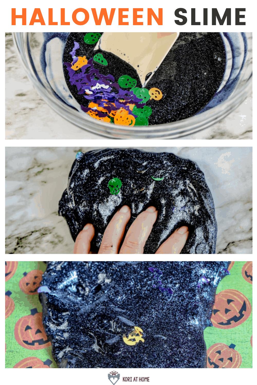 Sensory Friendly Halloween Slime 1