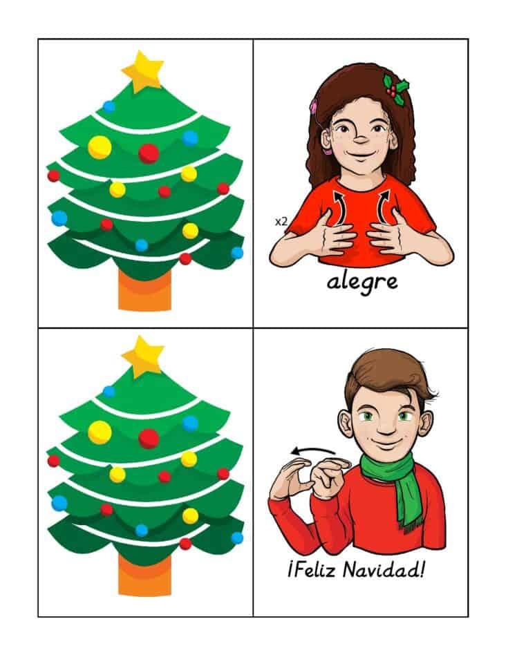 Free Printable American Sign Language Christmas Cards 3