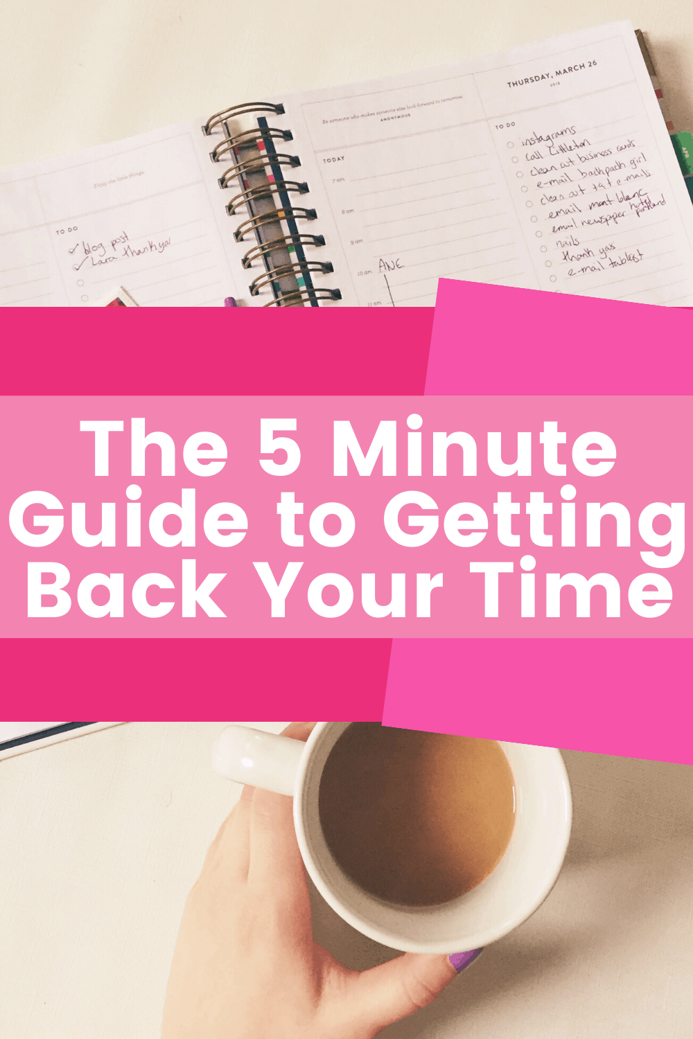 The Five Minute Guide to Organizing Your Mind for Less Mental Clutter 1