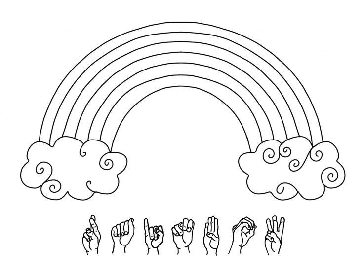 Simple Rainbow Printable Pack for Kids 2
