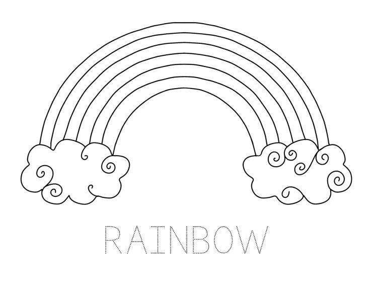 Simple Rainbow Printable Pack for Kids 3