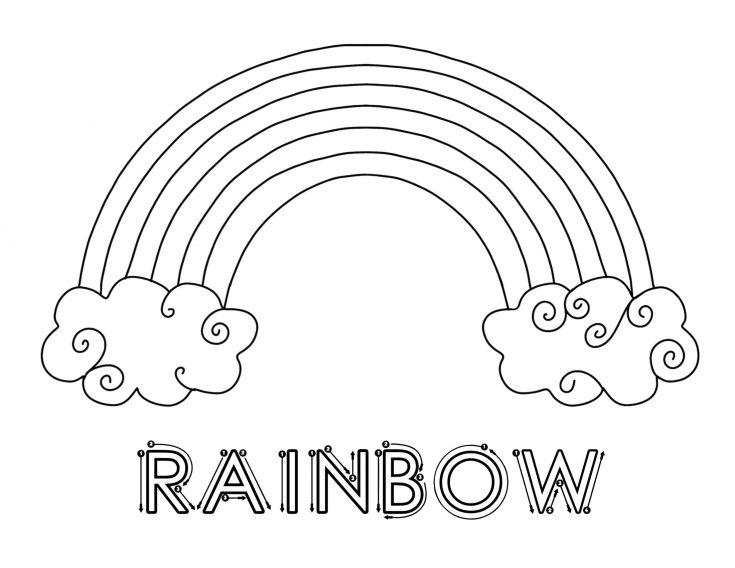 Simple Rainbow Printable Pack for Kids 4
