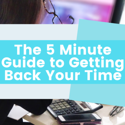 The Five Minute Guide to Organizing Your Mind for Less Mental Clutter