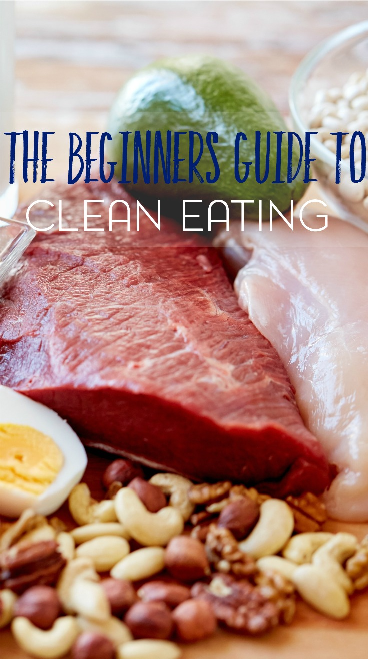 Thinking of trying clean eating but have idea as to where to start? Check out this beginner's guide to clean eating (from a beginner) and grab a free printable cheat sheet to help you out!