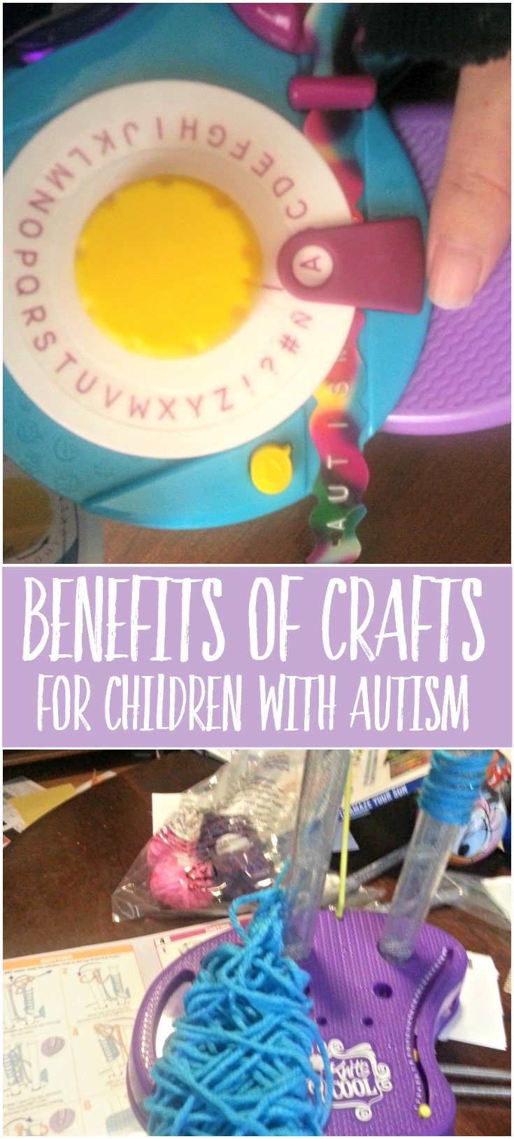 benefits of crafts for autistic children