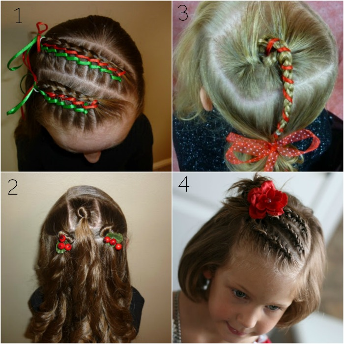 Christmas Hairstyles Younger Girls
