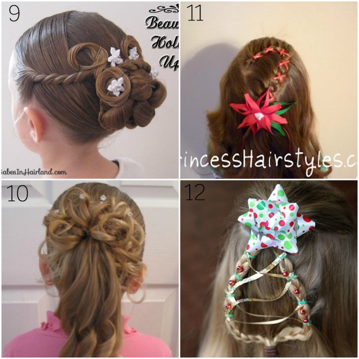 christmas hairstyles for younger girls batch 3