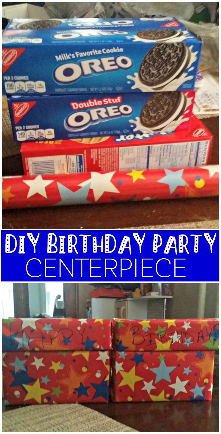 My craft skills are minimal, so this easy DIY centerpiece was my route to take when it came to planning my daugther's birthday. #GiftDeliciously #Cbias ad