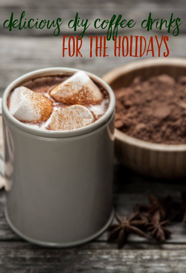 In need of a tasty coffee drink but don't want to run to the coffee shop to get it? Try one of these delicious DIY coffee drinks. #ad