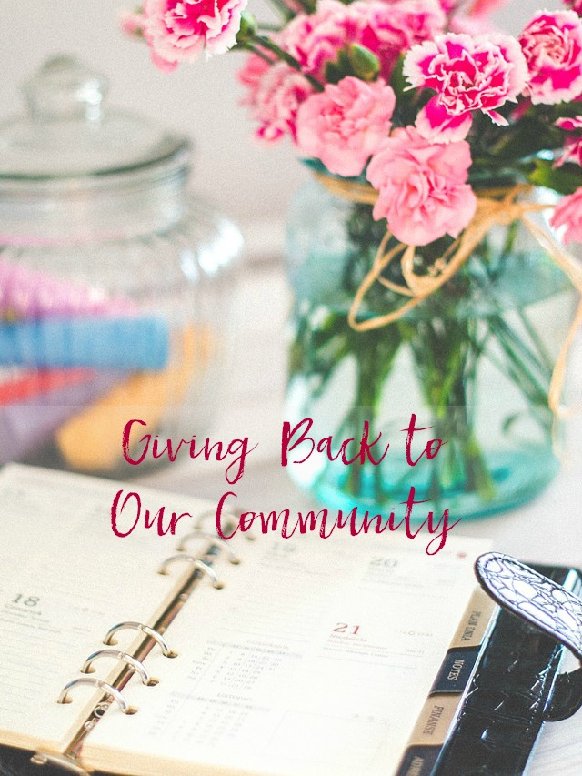 giving back community essay I believe in giving back to the community in which i live all of us here in america and centennial, in particular, have numerous privileges that many people in the.