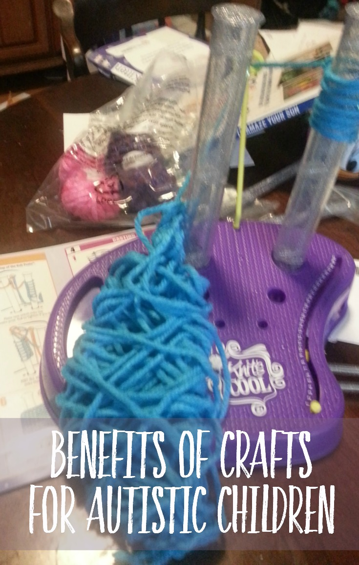 the benefits of crafts for autistic children