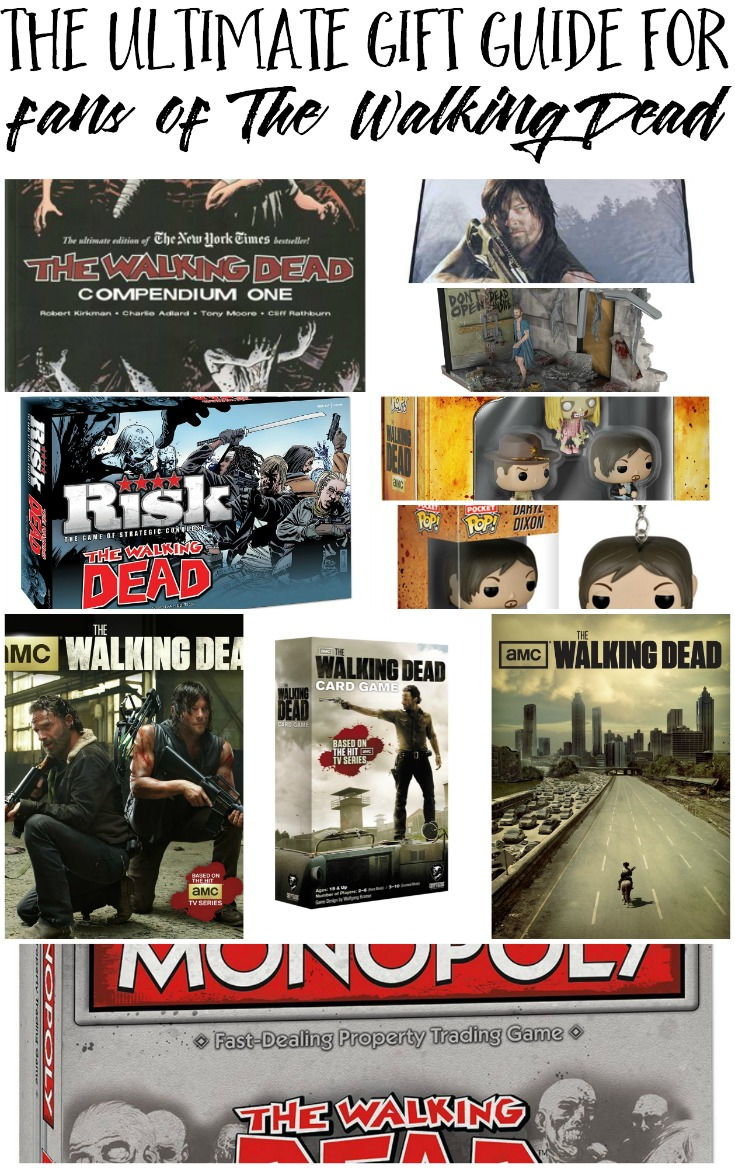 Have a fan of The Walking Dead in your life? Check out my ultimate The Walking Dead Gift Guide.