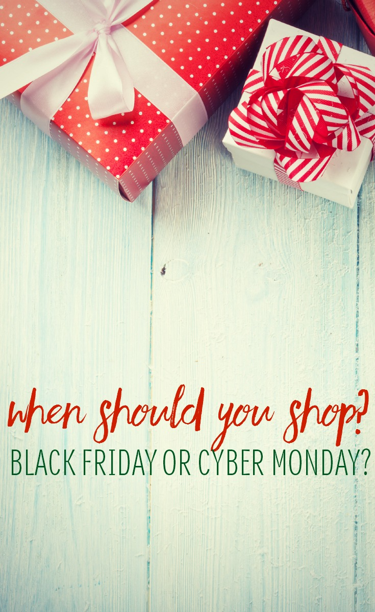 When it comes to saving money on gifts, or even if you're shopping for yourself, Thanksgiving weekend offers some fabulous options. But which is better for shoppers? Should you shop Black Friday or Cyber Monday?